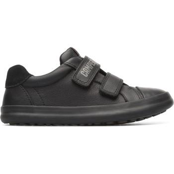 Chaussures Garçon Baskets basses Camper Baskets cuir Pursuit noir