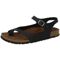 Chaussures Femme Sandales et Nu-pieds Interbios  Noir