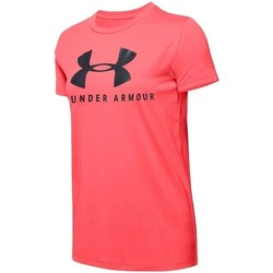 Vêtements Femme T-shirts manches courtes Under Armour Graphic Sportstyle Classic Crew Rose