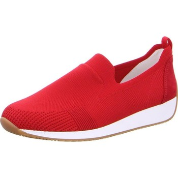 Chaussures Femme Slip ons Ara Appartements Lissabon Fusion4 Rouge