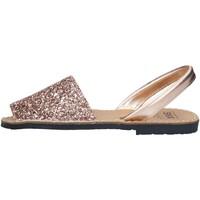 Chaussures Femme Sandales et Nu-pieds Ska 201 IBIZA DGL SANDALS femme SAUMON NU SAUMON NU