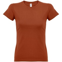Vêtements Femme T-shirts manches courtes Sols Imperial Marron clair