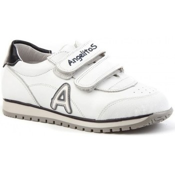 Chaussures Enfant Baskets basses Angelitos  Blanc