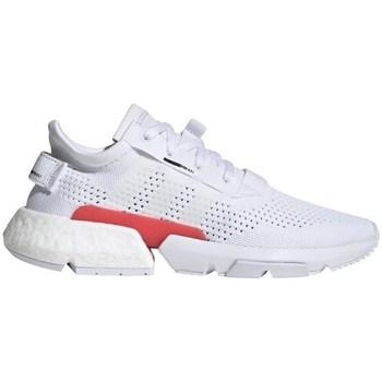Chaussures Homme Baskets basses adidas Originals PODS31 Blanc, Rouge
