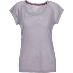 Vêtements Femme T-shirts manches courtes Trespass  Gris