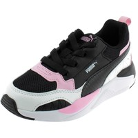 Chaussures Fille Baskets basses Puma X-RAY 2 SQUARE AC PS NERE Noir