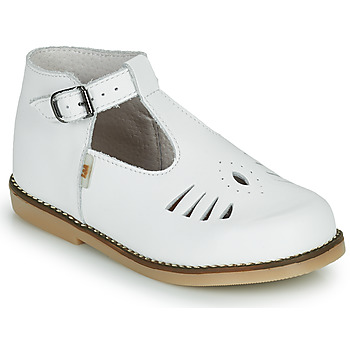 Chaussures Fille Baskets montantes Little Mary SURPRISE Blanc