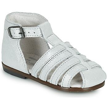 Chaussures Fille Sandales et Nu-pieds Little Mary JULES Argenté