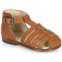 Chaussures Fille Sandales et Nu-pieds Little Mary JULES Marron