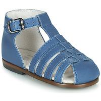 Chaussures Fille Sandales et Nu-pieds Little Mary JULES Bleu