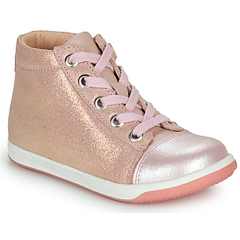 Chaussures Fille Baskets montantes Little Mary VITAMINE Rose