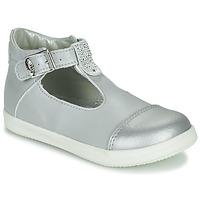 Chaussures Fille Ballerines / babies Little Mary VALSEUSE Argenté