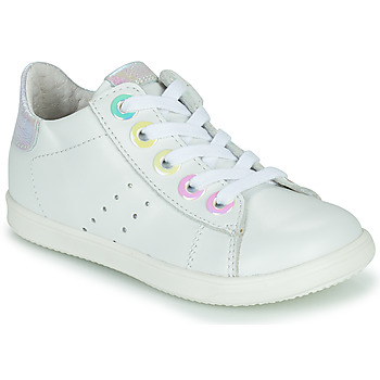 Chaussures Fille Baskets montantes Little Mary DOROTHE Blanc