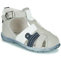 Chaussures Garçon Sandales et Nu-pieds Little Mary VERCORS Gris