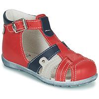 Chaussures Garçon Sandales et Nu-pieds Little Mary VERCORS Rouge
