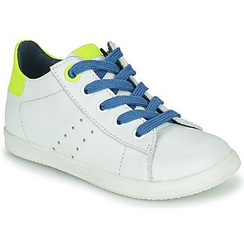 Chaussures Garçon Baskets basses Little Mary DUSTIN Blanc