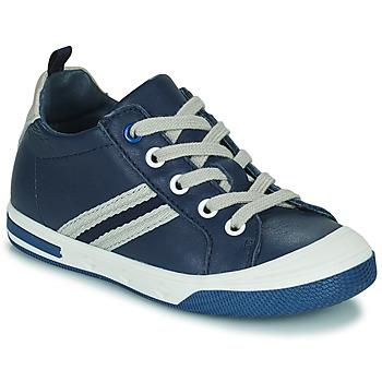 Chaussures Garçon Baskets basses Little Mary LOGAN Bleu