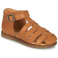 Chaussures Garçon Sandales et Nu-pieds Little Mary LIXY Marron