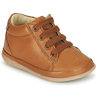 Chaussures Fille Baskets montantes Little Mary GAMBARDE Marron
