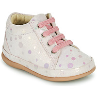 Chaussures Fille Baskets montantes Little Mary GAMBARDE Rose