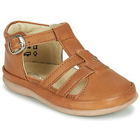 Chaussures Enfant Ballerines / babies Little Mary LAIBA Marron