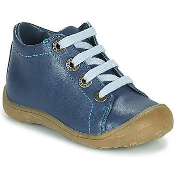 Chaussures Enfant Baskets montantes Little Mary GOOD Bleu