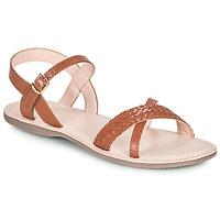 Chaussures Fille Sandales et Nu-pieds Little Mary LIANE Marron