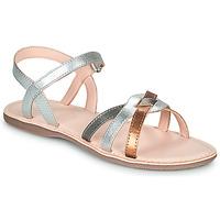 Chaussures Fille Sandales et Nu-pieds Little Mary LIGHT Argenté