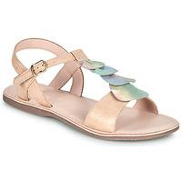 Chaussures Fille Sandales et Nu-pieds Little Mary MARIETTE Doré