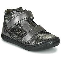 Chaussures Fille Baskets montantes Little Mary JACKLYN Argenté