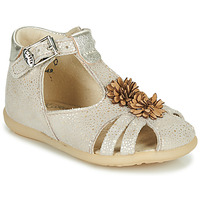 Chaussures Fille Sandales et Nu-pieds Little Mary GLADYS Beige