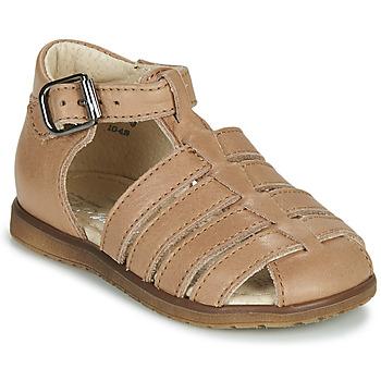 Chaussures Enfant Sandales et Nu-pieds Little Mary LIXY Beige