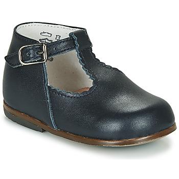 Chaussures Fille Sandales et Nu-pieds Little Mary BASTILLE Marine