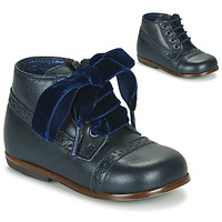 Chaussures Fille Boots Little Mary FAVORITE Marine