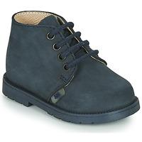 Chaussures Garçon Boots Little Mary GINGO Marine