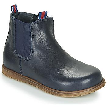 Chaussures Garçon Boots Little Mary JAUFFREY Marine