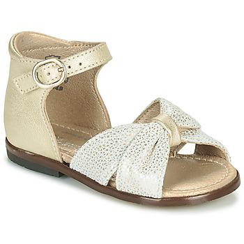 Chaussures Fille Sandales et Nu-pieds Little Mary DIANA Doré