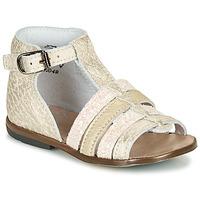 Chaussures Fille Sandales et Nu-pieds Little Mary HOSMOSE Doré