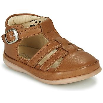 Chaussures Enfant Sandales et Nu-pieds Little Mary LAIBA Marron