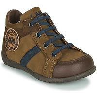 Chaussures Garçon Boots Little Mary COQUIN Marron