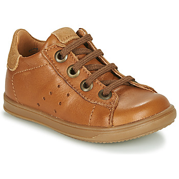 Chaussures Garçon Baskets basses Little Mary DUSTIN Cognac