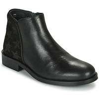 Chaussures Fille Boots Little Mary CAMERON Noir
