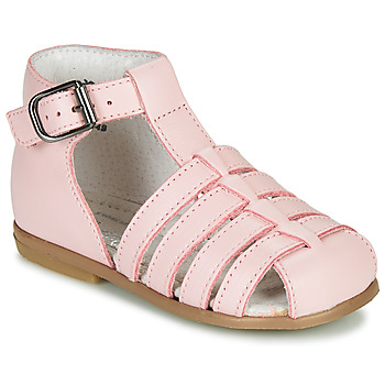 Chaussures Fille Sandales et Nu-pieds Little Mary JULES Rose