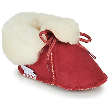 Chaussures Enfant Chaussons Little Mary BB POLAIRE Rouge
