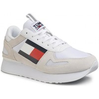 Chaussures Homme Baskets basses Tommy Hilfiger Tommy Jeans Lifestyle Runner B Blanc