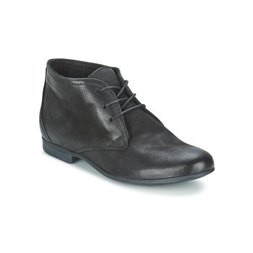 Bottines / Boots Dream in Green GOLESTA Noir 350x350