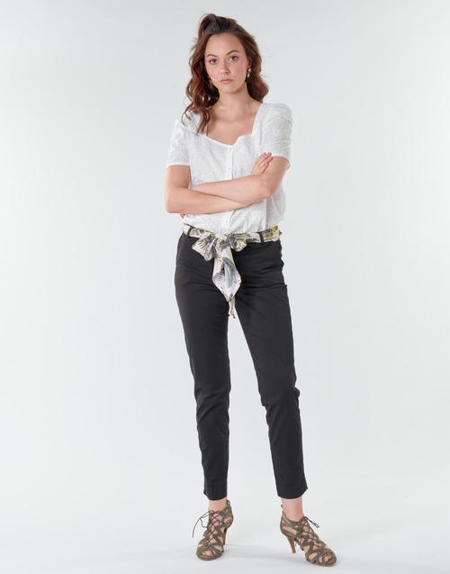 Vêtements Femme Pantalons 5 poches Betty London NIAOUTE Noir