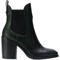 Chaussures Femme Bottines Tommy Hilfiger Bottines Chelsea à blocs de co Noir