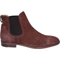 Chaussures Homme Boots Moma bottines daim marron
