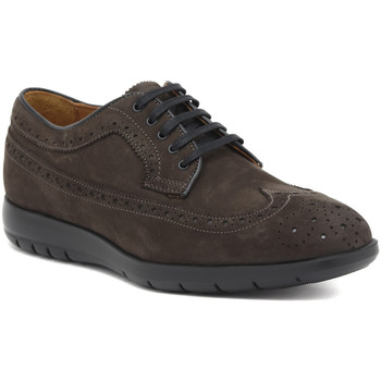 Chaussures Homme Derbies Marco Ferretti INGLESE NABUK ANTRACITE Multicolore